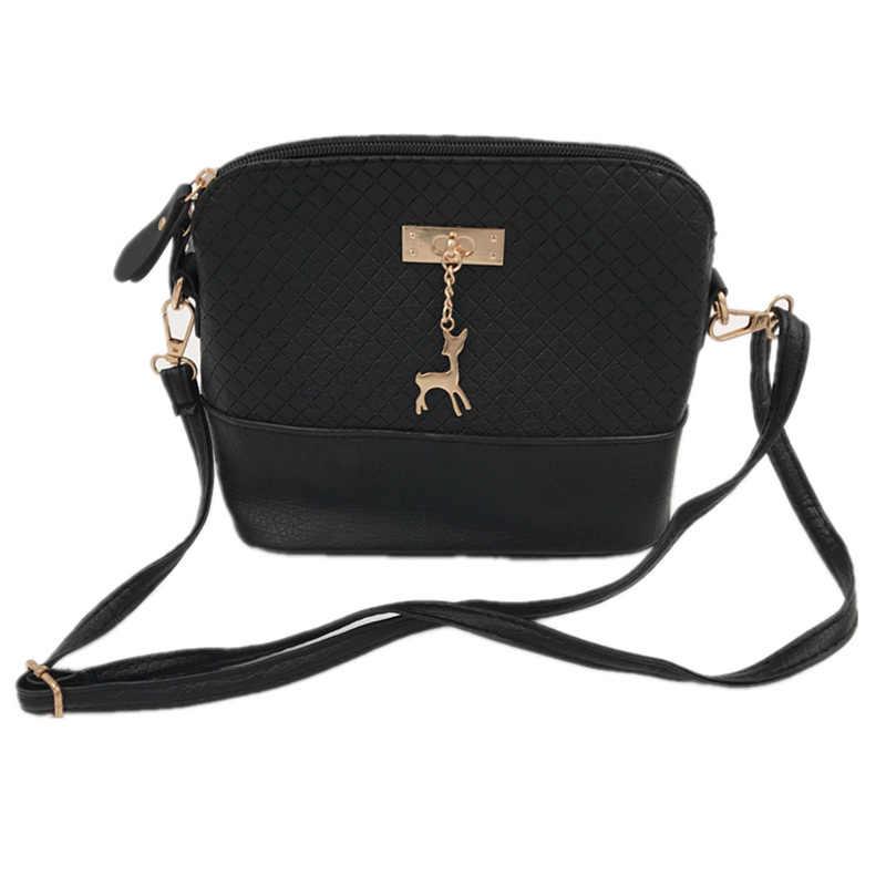 3fe84603c05b Горячая Распродажа 2017 женские сумки-мессенджеры модная мини-сумка с  оленем игрушка в виде