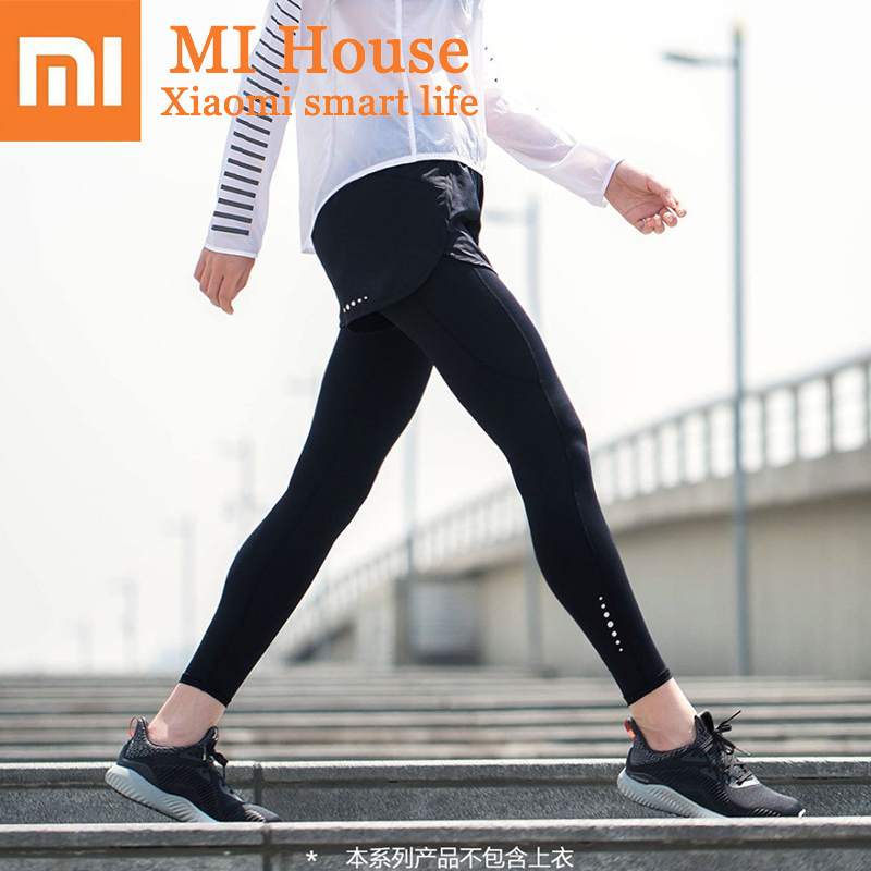 Xiaomi 7th Ladies Compression Trousers Breathable and Quick-Drying Sports Tight Pants for Women MIjia Yoga Leggings Sweatpants цена 2017