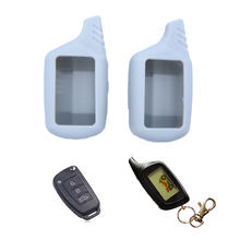 Dewtreetali B9 LCD Remote Keyless Entry Silicone Case Cover Set Skin Protector For Starline Car Styling