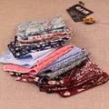 16 color 10 unids/lote 2017 nuevo diseñador de moda de Los Hombres de algodón casual impresión floral pocket square pañuelo pañuelos de la vendimia traje