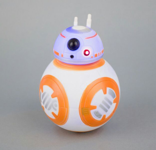 Hot Star Wars The Force Awakens BB8 BB-8 Droid Robot with light with sound Action Figure Collection toys for christmas gift