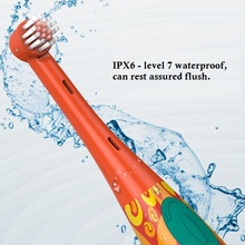 Children's version of safety  electric toothbrush  super interesting  low frequency vibration Accelerate clean antibacterial