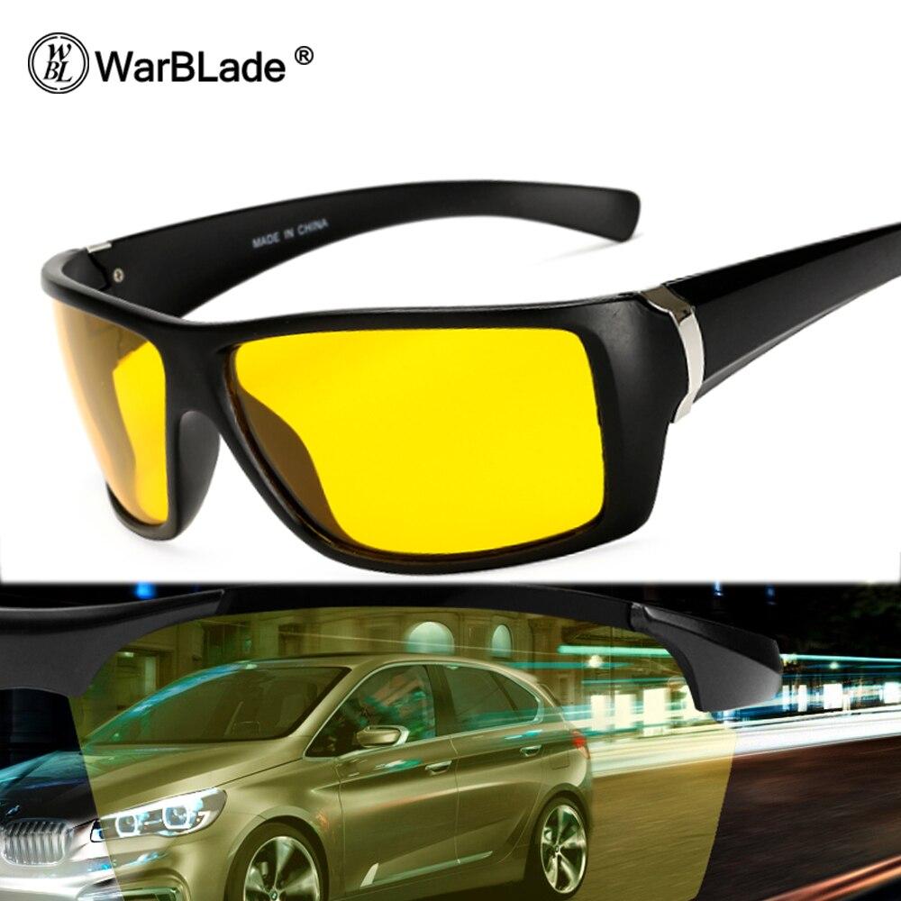 Warblade Nachtsichtgläser Für Scheinwerfer Polarisierte Fahren Sonnenbrille Gelb-linse Uv400 Schutz Nacht Brillen Für Fahrer StraßEnpreis