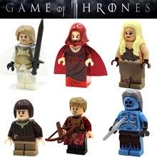 60pcs starwars super heroes marvel Game of Thrones Series building blocks bricks hobby interesting toys for kids speelgoed