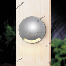 Outdoor Garden Decking Side Light Led Deck Stair Step Light Wall Lamp 1w Mini Accent Patio