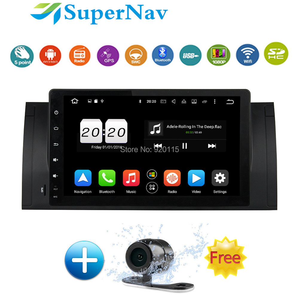 9 car multimedia system android fit for bmw e39 e53 x5 m5. Black Bedroom Furniture Sets. Home Design Ideas