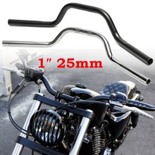 """1 """"25mm Motorrad Aluminium Lenker Drag Bars Für Harley-davidson 883 1200"""