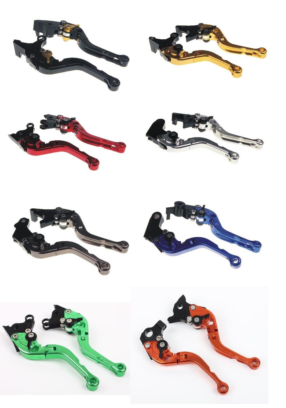 ФОТО CNC Adjustable Short Folding Brake Clutch Lever For DUCATI Monster S2RC S4R MTS1000 S Sport 1000 Multistrada 1100 DB5S