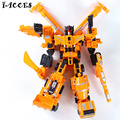 Big Size 42CM Big Size  Boy Toys Action Classic Figures Deformation Robot Model Constructions Anime Engineering vehicle Gift