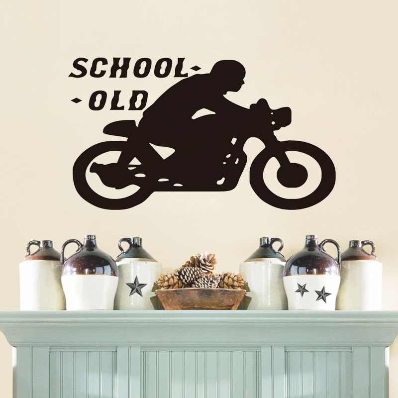 Online Buy Wholesale motorcycle wall decal from China ...