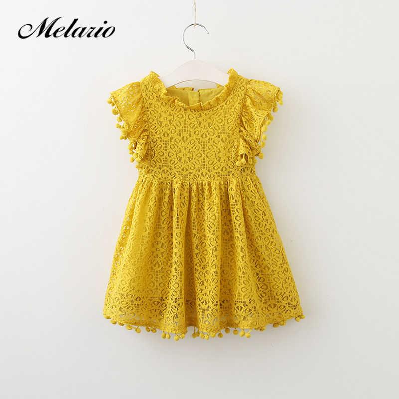 9441bb0b9d29c Melario Girls dress 2019 New Summer Dress Children Clothing Fashion Tassel  Princess Girl Clothes Kids Dresses for Girls