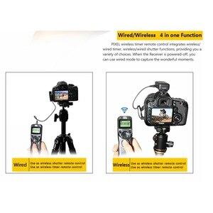 Image 4 - Pixel TW 283 sans fil minuterie télécommande déclencheur (DC0 DC2 N3 E3 S1 S2) câble pour Canon Nikon Sony appareil photo TW283 VS RC 6