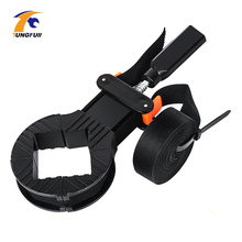 цены Multifunction belt clamp Woodworking Quick Adjustable Band Clamp Polygonal clip 90 Degrees Right Angle Corner Photo Frame Clips