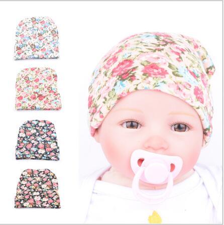 5pcs New Wholesale Baby accessories Girl Toddler Infant Children Cotton  Floral Hat Cap Newborn Hats Baby Beanies Hospital Hat b234d19a9b1