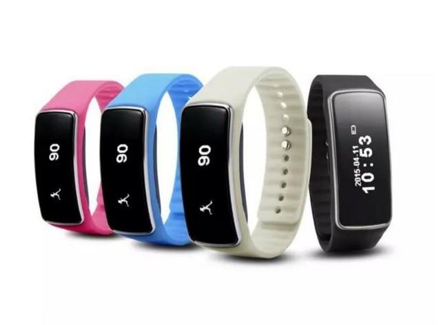 Fashion Smart Wristband V5S Smart Bracelet Pedometer Sleep Tracker Thermometer Fitness Tracker Smart watch
