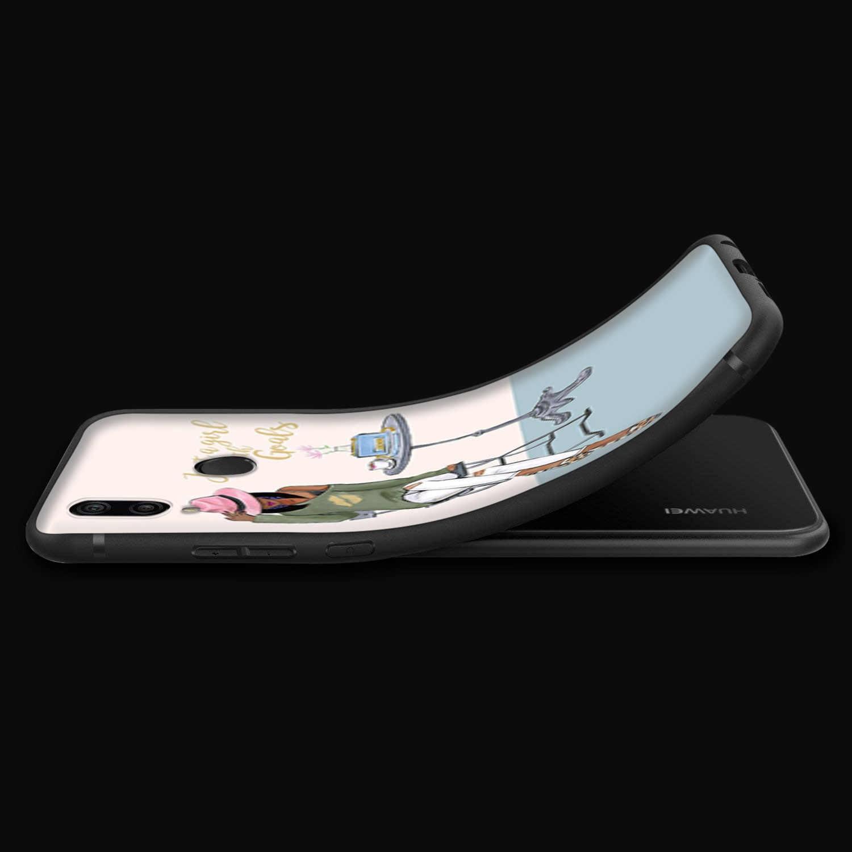 Lavaza Vogue Ragazze Della Principessa Femminile di Caffè per il Caso di Huawei P30 P20 P10 P9 P8 Compagno di 20 10 Pro Lite P smart 2017
