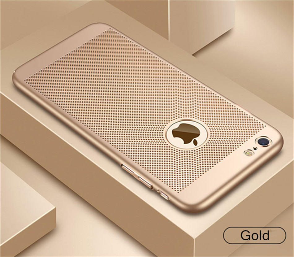 Heat dissipation iPhone Case - Hard Back PC Protect Shell 13