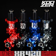 KOOZER XR420 MTB Mountain Bike QR Disc Hubs Front Rear Straight Pull XD Driver Hub 6 Bolt 100*9/15 135*10 142*12mm THRU