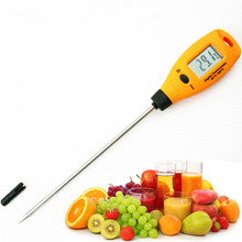 Wholesale prices Hot Sale High Accuracy Digital Probe-type Thermometer Stainless Steel Kitchen Temperature Meter Tool AR212 Food Temperature Test