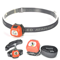 Whoelsale Gree/Blue/Red LED Headlamp Headlight 3 Mode 600 Lumen Head Lamp linterna frontal For Outdoor Sports