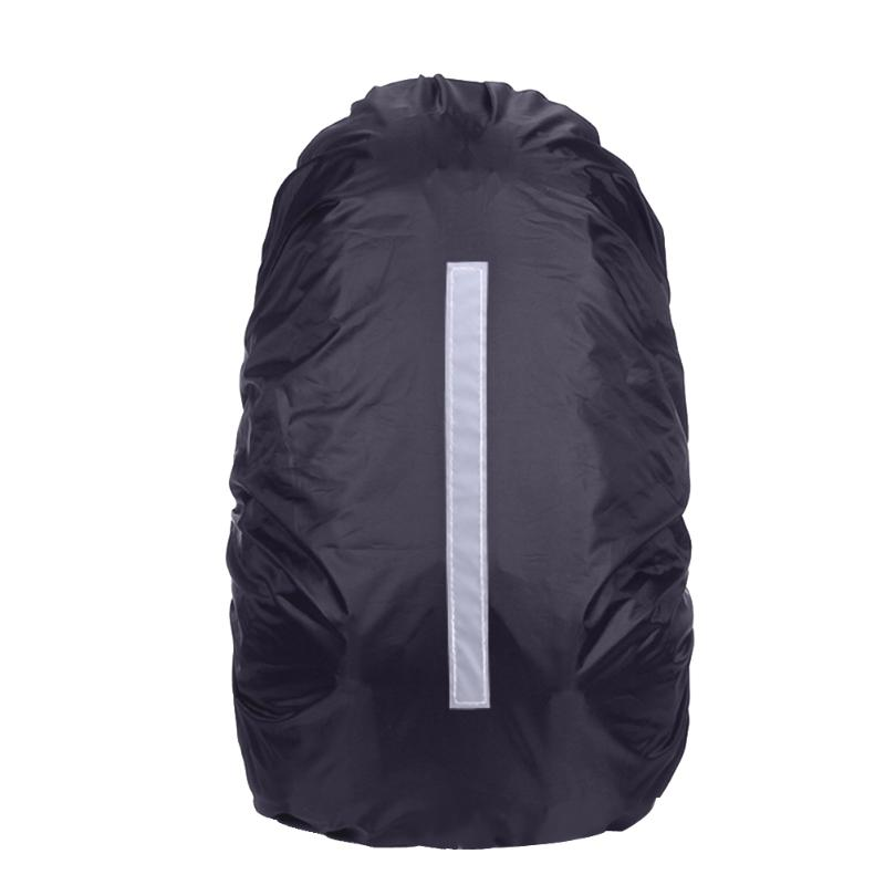 bf72fbf53a1a Unisex Reflective Waterproof Nylon Soft Backpack Rain Cover Dust Rain Bag  Cover Camping Waterproof Cover Safety