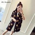 Oso Patrones Bufandas Calientes de la Moda de Las Mujeres Nuevo 2016 de la Marca de Impresión Flores De Tela Foulard Bufanda Mantón de Las Bufandas de Protección Solar Del Verano