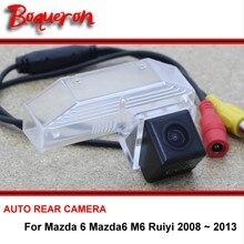 For Mazda 6 Mazda6 M6 Ruiyi 2008~2014 Rear View Camera Reversing Camera Car Back up Camera HD CCD Night Vision Vehicle Cam