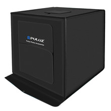 PULUZ 60 60cm 24 inch portable mini photo font b studio b font box softbox 30W