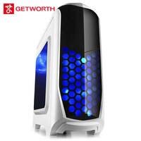 Getworth r12 DIY Рабочего игровой Intel i5 7400 120 г SSD 400 Вт GTX geforce1060 гигабайт b250m игровой компьютер PC широкий диапазон