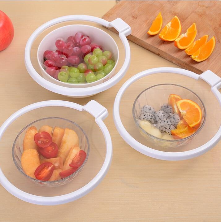 6PCS / SET ECO-FRIENDLY domácí vakuové potravinářské pečetidlo konzervace obal potravin uzavřené kuchyně