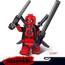 1PCS model building block action figure starwar superheroes deadpool hobby kids toys kit classic idea diy toys for children gift(China)