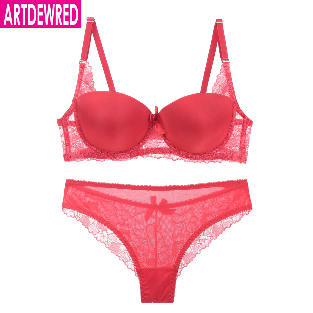 Luxurious Sexy Seamless   Bra     Set   For Women 36 38 40 42 B C Big Size Push Up   Bra     Sets   Underwear Panty   Set   Lace Temptation   Briefs