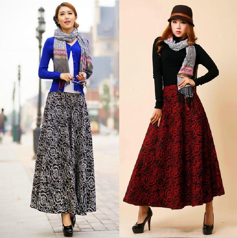 Popular Winter Long Skirt-Buy Cheap Winter Long Skirt lots from ...