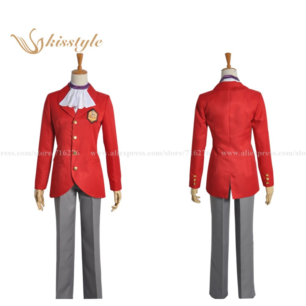 Kisstyle Fashion Kaminomi The World God Only Knows Keima Katsuragi Maijima Uniform Cosplay Costume,Cusomized Accepted
