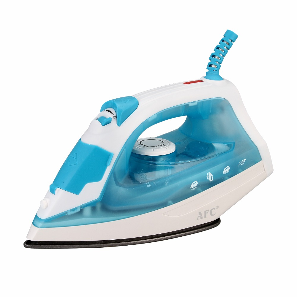 Blue/Purple Household Electric Steam Iron Clothes Adjustable Soldering Wire Iron Steamer Mechanical Timer Control Ceramic 220V