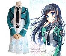 El irregular en la magia de secundaria shiba miyuki lolita dress anime cosplay para las mujeres disfraces vestidos 4 en 1