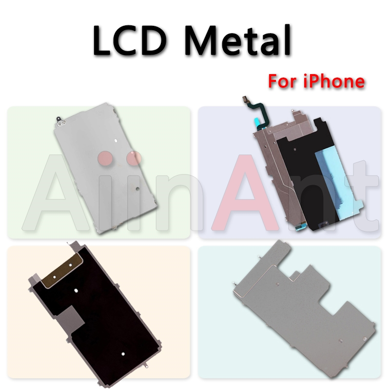 LCD Display Screen Home Extend Flex Holding Back Metal Plate Baffle Bezel Backplate Housing For IPhone 5 5s 5c 6 6s 7 8 Plus