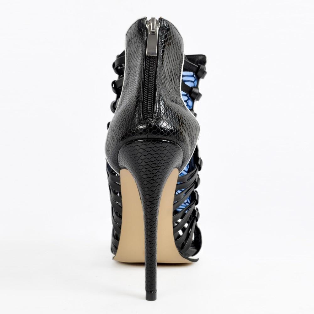 L'intention Peep Plus Nouveau Sandales Femmes Muliticolors Taille Femme Minces 4 Xd267 Talons Style Mode 15 Initiale Sexy Chaussures Toe Nous 65Ywrq61x