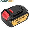 Floureon ferramentas eléctricas baterias sem fio substituição 18 v 4000 mah bateria para furadeira dewalt dcb181 dcb182 dcd780 dcd785 dcd795