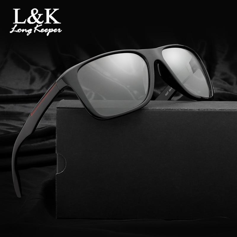 Long Keeper 2019 New Retro Photochromic Sunglasses Men Polarized Square Sun Glasses Vintage Black UV400 Driving Gafas photochromic sunglasses