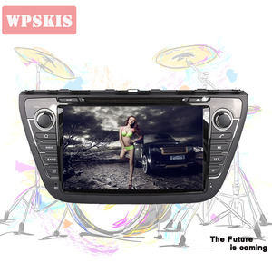 Автомобильный DVD-плеер, 4 Гб ОЗУ 1024*600 Android 9,0 для Suzuki SX4 S Cross 2014 2015 2016 2017 2018, GPS карта, RDS радио, Wi-Fi, BT головное устройство