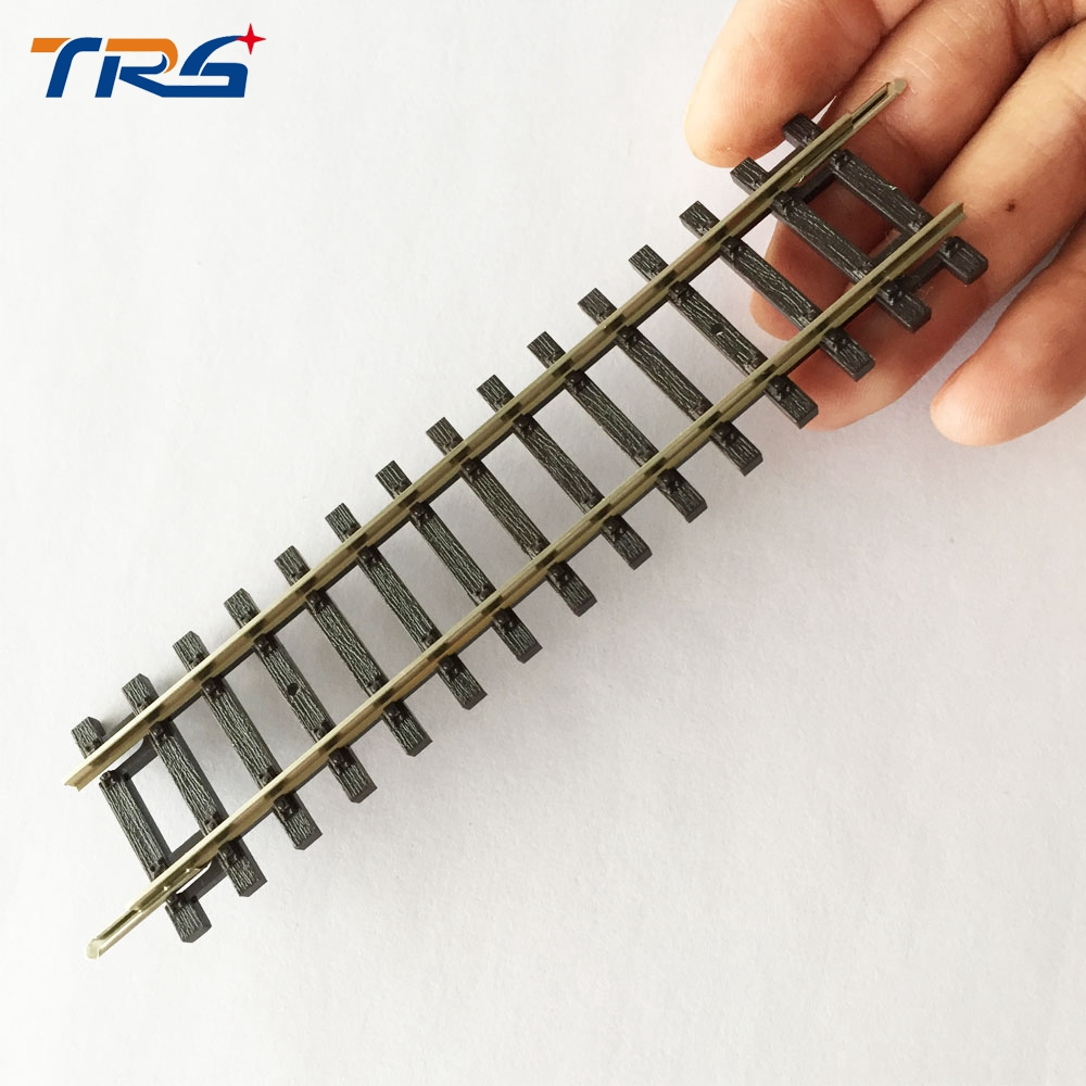HO 1:87 scale Model Train railway Straight  track for Model building making architecture length 23.1cm