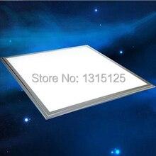 Бесплатная доставка по DHL светодиодные панели 600×600 40 Вт высокая яркость светодиодный потолочный светильник белый/теплый белый свет и освещение