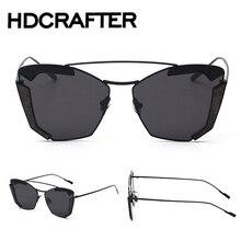 Mujeres Negro Vintage Ronda Gafas gafas de Sol Frescas Hombres gafas de sol