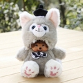 Stuffed Monchichi Constellation 20cm Plush Toys Doll Monkiki Bag Pendant Car Charm  Kiki Children Toy Kids Gift Monchhichi M188E