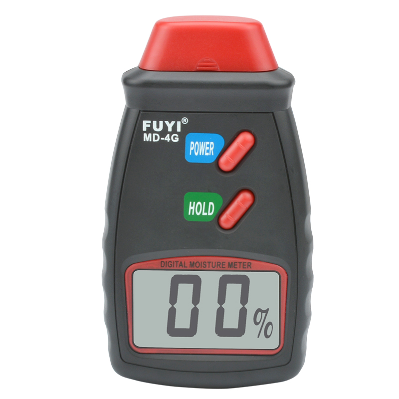 Digital Wood Moisture Meter 0-99% Wood Humidity Tester Two Pins Timber Damp Detector Tester Sensor with Large LCD Display