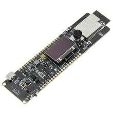 Lilygo®Ttgo T Controller ESP32 WROVER 4 Mb Spi Flash En 8 Mb Psram 0.96 Oled Vijf Weg Knop 18650 batterij Houder