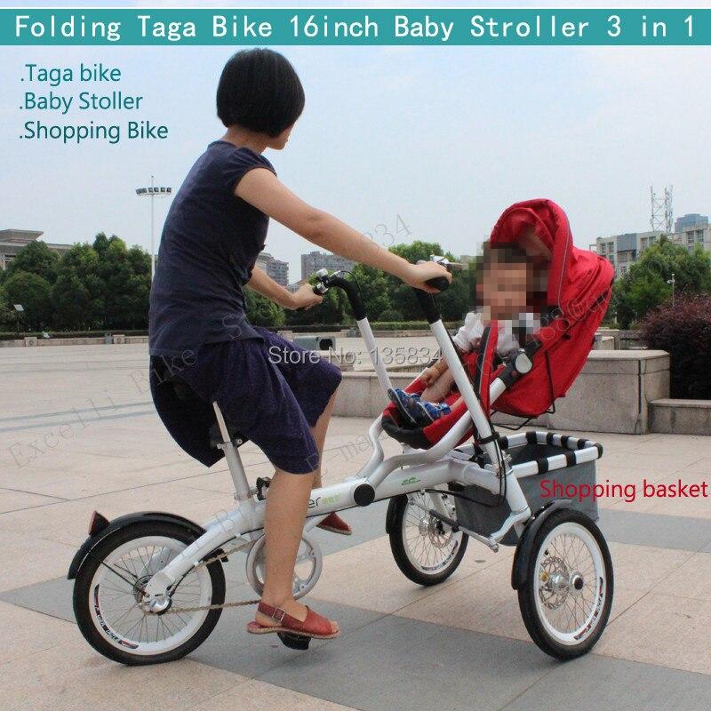 Aliexpress.com : Buy Upgrade More Widen & Comfortable Folding Bike ...