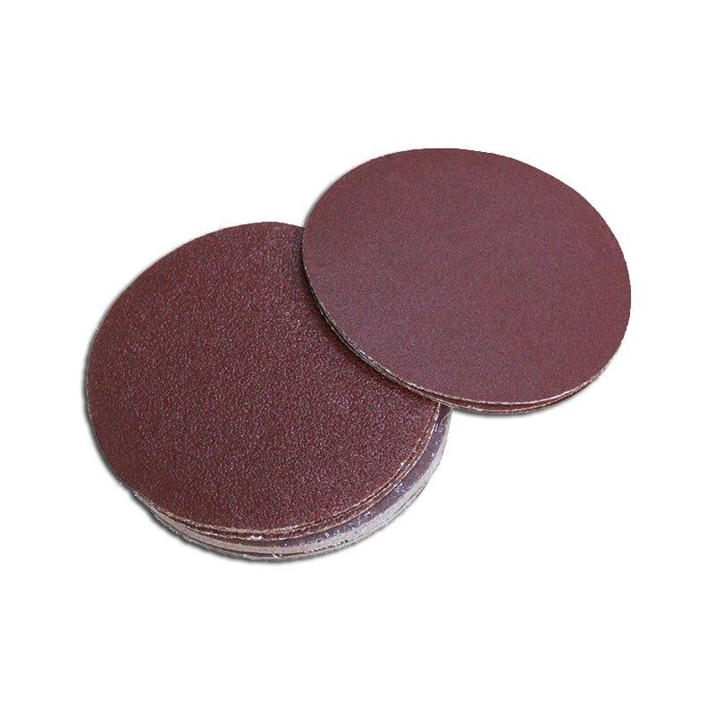 25pcs 6 Inch 150mm Abrasive Sandpaper Aluminium Oxide Sanding Disk Peel & Stick Grit 60 80 120 180 240