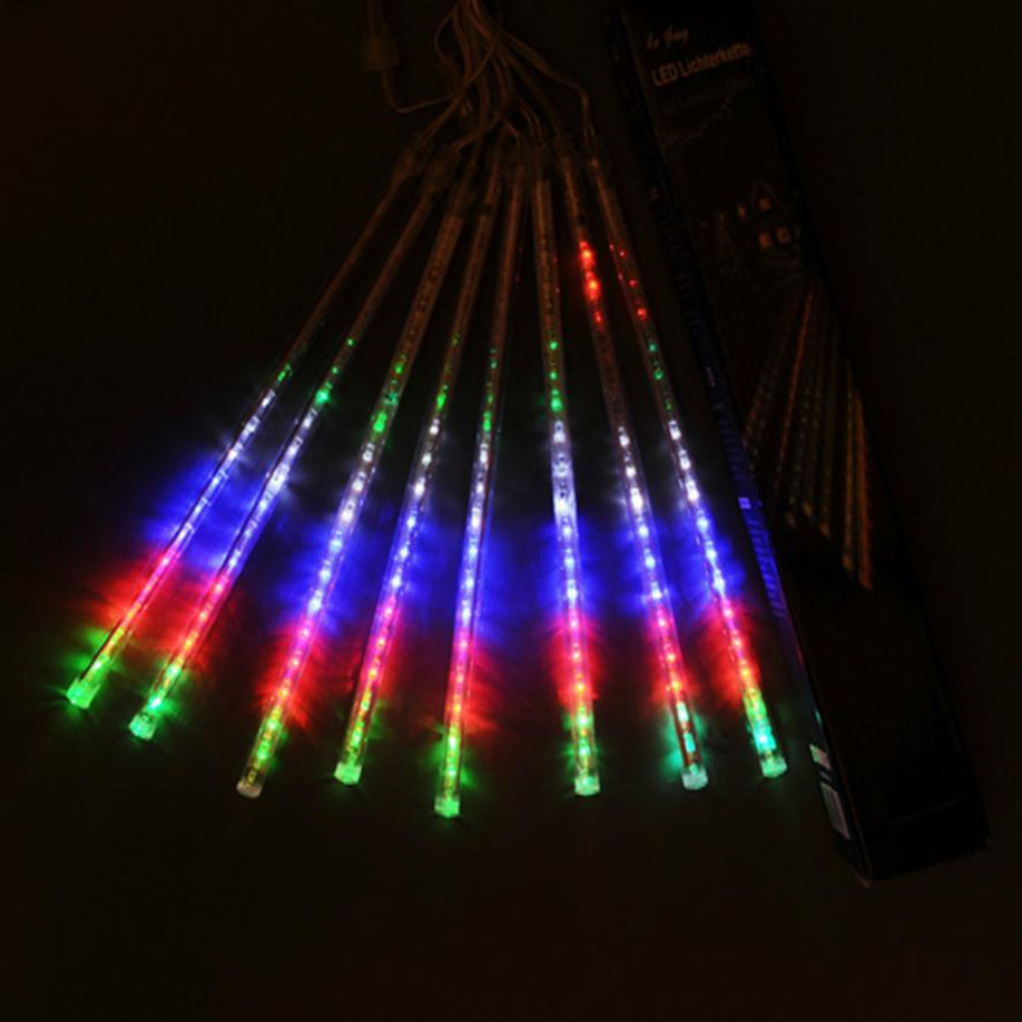 FGHGF Brand 2018 Newest Holiday Decoration Fairy Light 30CM LED Lights Meteor Shower Rain Snowfall Xmas Tree Garden Outdoor